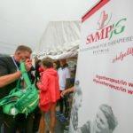 Die Zelte waren gut zu finden. Foto: SMMP/Ulrich Bock