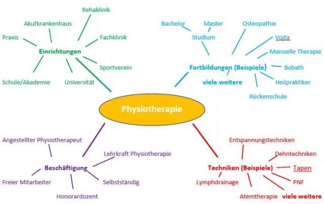 Berufsfeld Physiotherapie