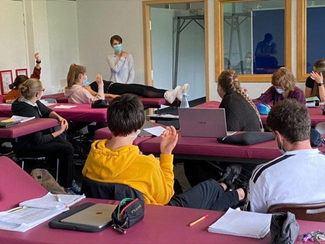 Praktischer Unterricht Physios 2